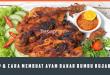 Resep Cara Membuat Ayam Bakar Bumbu Rujak