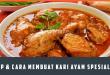 Resep Cara Membuat Kari Ayam Spesial