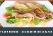 Resep Cara Membuat Taco Beku Untuk Sarapan